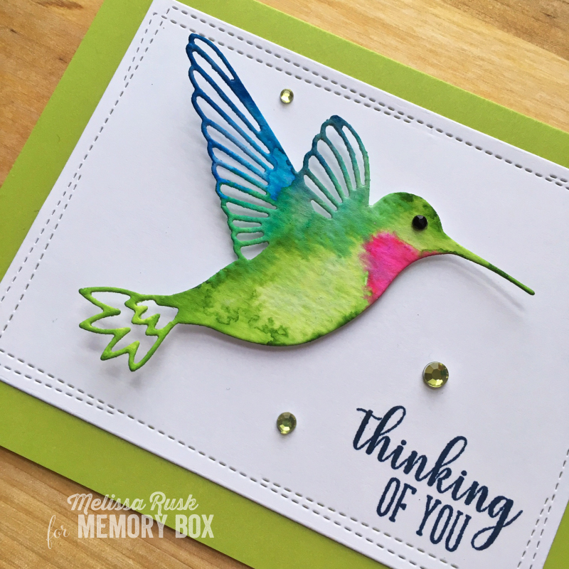 Bird Sanctuary clear stamp set