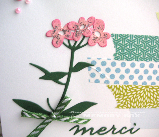 Merci washi detail