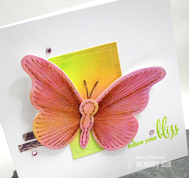 MemoryBoxPlushElegantButterfly-MemoryBoxWrappedStitchRectangles-MemoryBoxFollowYourBliss-MemoryBoxMorningGardenButterflies-JeanOkimoto-BirchPressDesign-VersaFineClair-Kaleidacolor-ImagineCrafts-MemoryBoxButterflies-WatercoloredButterflyCards-DiecutButterflyCards