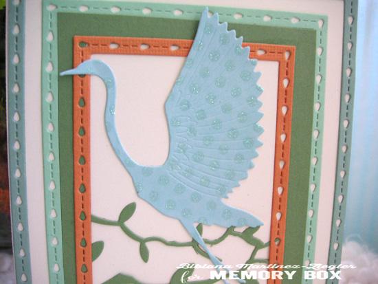 PPS grulla azul detail