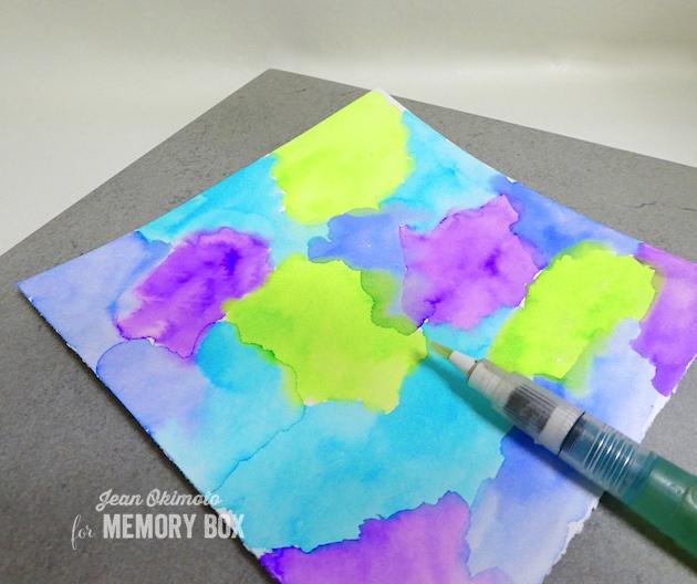 WatercolorTechniques-JeanOkimoto-KaleidacolorDyeInkRefills-ImagineCrafts