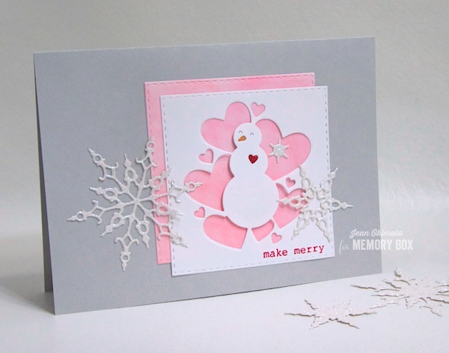 MemoryBoxHoliday2018-MemoryBoxAllHeartSnowman-MemoryBoxCrystalSnowflakes-MemoryBoxStitchedSquareLayers-MemoryBoxTypewriterHolidaySentimentsClearStamps-JeanOkimoto-SnowmanCards-SnowflakeCards-SnowmanDiecuts-SnowflakeDiecuts-WatercoloredCards-ImagineCrafts-ImpressCardsAndCrafts