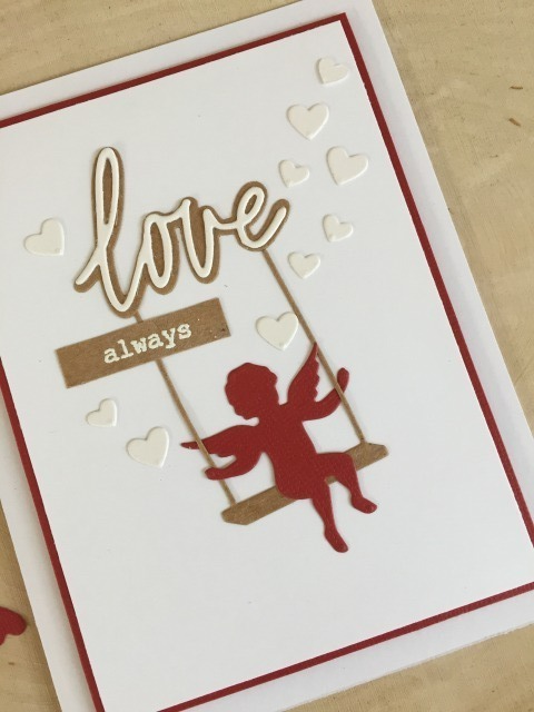 94103 Cupid with Swing craft die