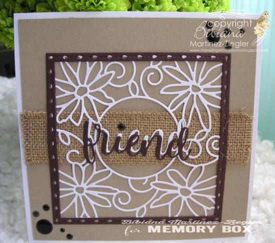PPS burlap friend front