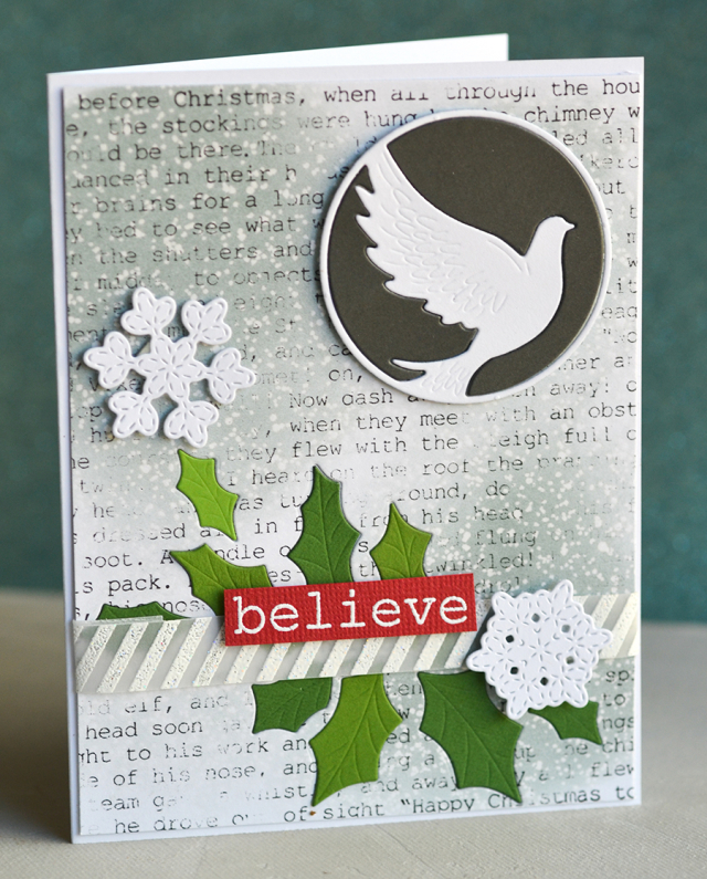 Typewriter Holiday Elements clear stamp set