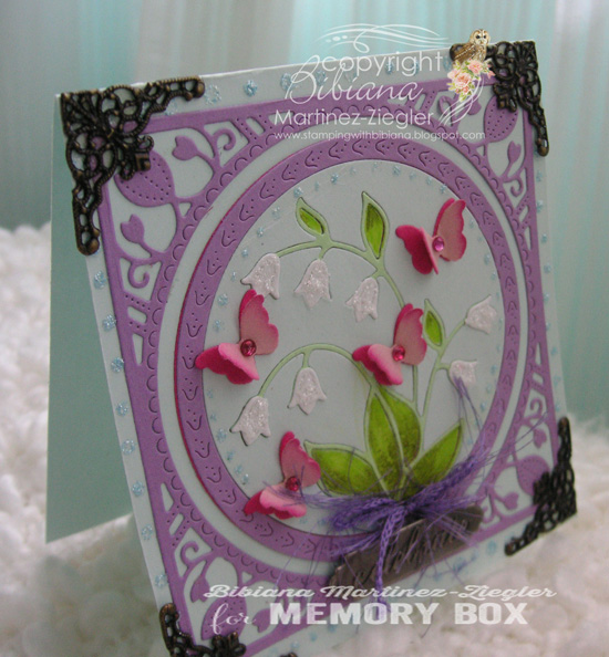 94215 Lily of the Valley Frame craft die