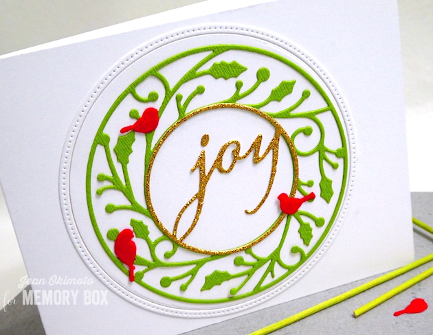 94019 Joy Circle craft die