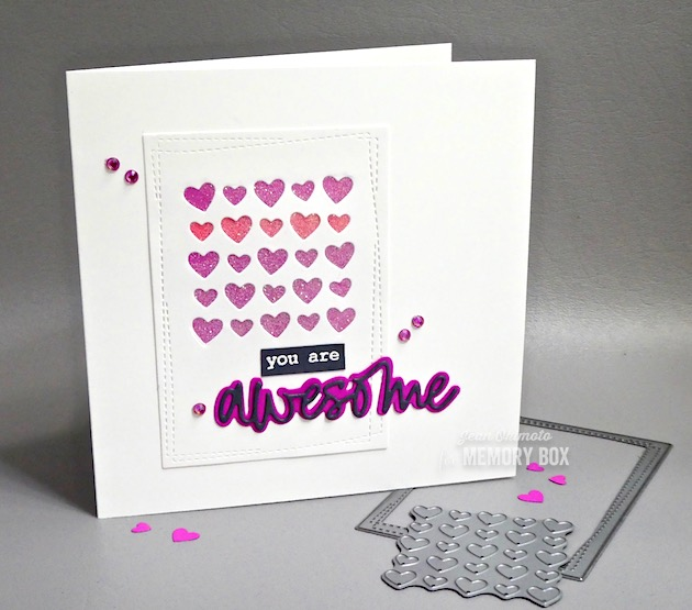 94015 Awesome Jotted Script craft die