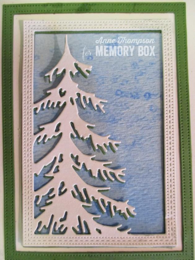 94031 Delicate Pine Frame craft die