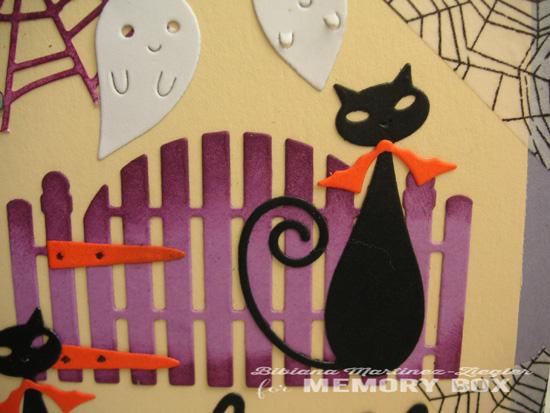 Halloween cats detail