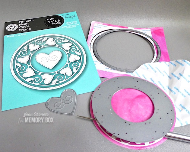 MemoryBoxPinpointHeartCircleFrame-MemoryBoxValentine's2019Collection-JeanOkimoto-HeartDiecuts-ValentineDiecuts