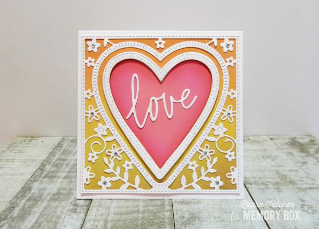 94119 Love Jotted Script craft die