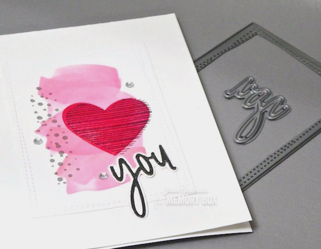 MemoryBoxHaveAHeartClearStamps-MemoryBoxWrappedStitchRectangles-MemoryBoxBirdSanctuaryClearStamps-MemoryBoxYou JottedScript-JeanOkimoto-ImagineCrafts-ImpressCardsAndCrafts-ValentineCards-ValentineDiecuts-HeartCards-WatercoloredValentines