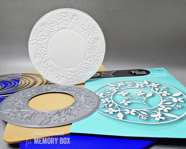 MemoryBoxCottageFlowerCircleFrame, MemoryBoxSimpleGardenPots, MemoryBoxBoldFriendlyGreetingsClearStamps, MemoryBoxCircleBasics, MemoryBoxRectangleBasics, JeanOkimoto, ImagineCrafts, BrillianceInkpads, ImpressCardsAndCrafts, SpringDiecuts, SpringCards, FlowerDiecuts, FlowerCards