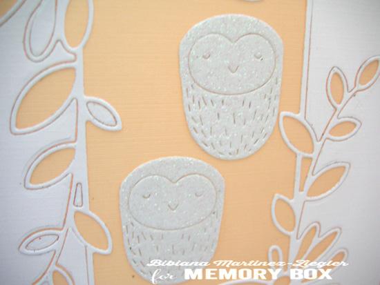Melon 2 owls detail