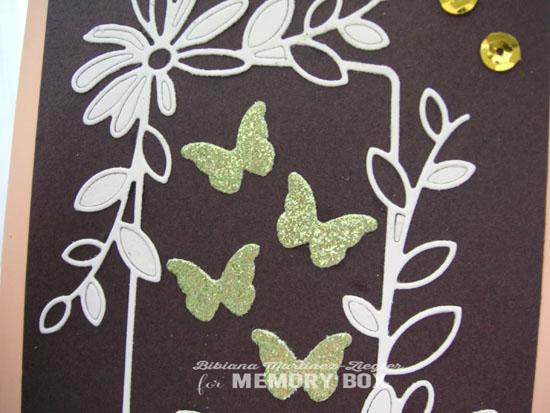 Daisy butterflies detail
