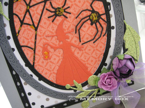 Halloween witch detail 2