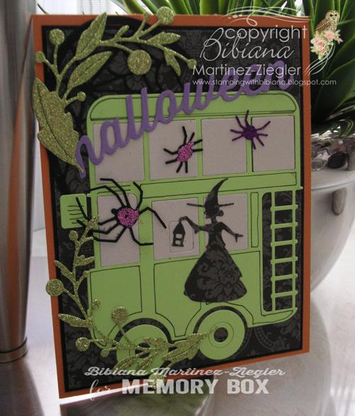 Hallloween bus witch last