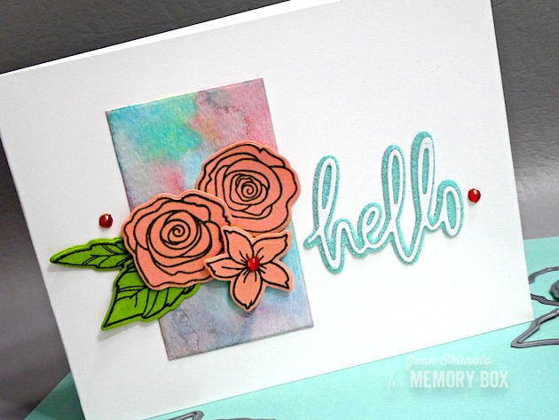 94069 Hello Jotted Script craft die