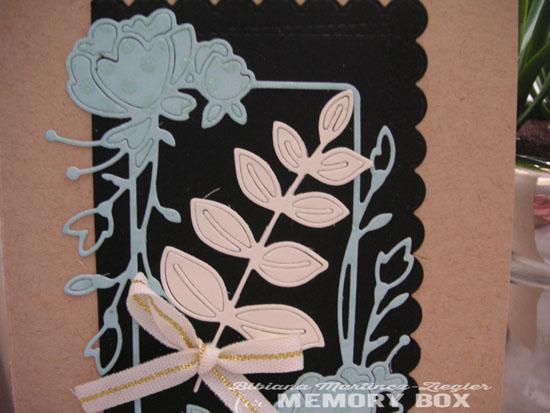 Creme leaf detail