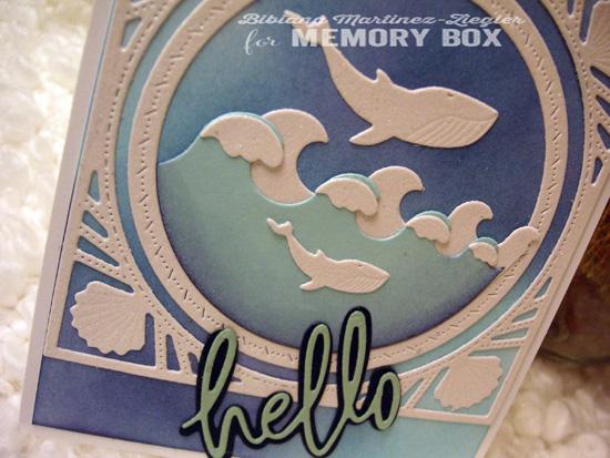 Whale white detail