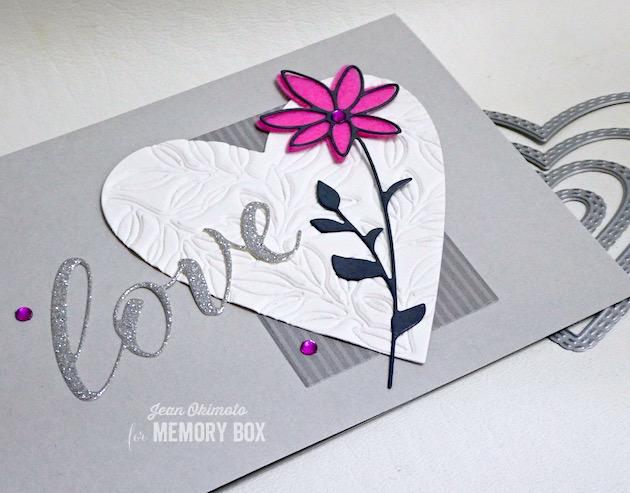 MemoryBoxSingleDaisyStem, MemoryBoxLoveAiryScript, MemoryBoxLeafyHeart, MemoryBoxDoubleStitchHappyHeartCutOuts, JeanOkimoto, MemoryBoxCo, MemoryBoxValentine2020, HeartDiecuts, ValentineDiecuts, HandmadeValentineCards, FlowerDiecuts, ImpressCardsAndCrafts