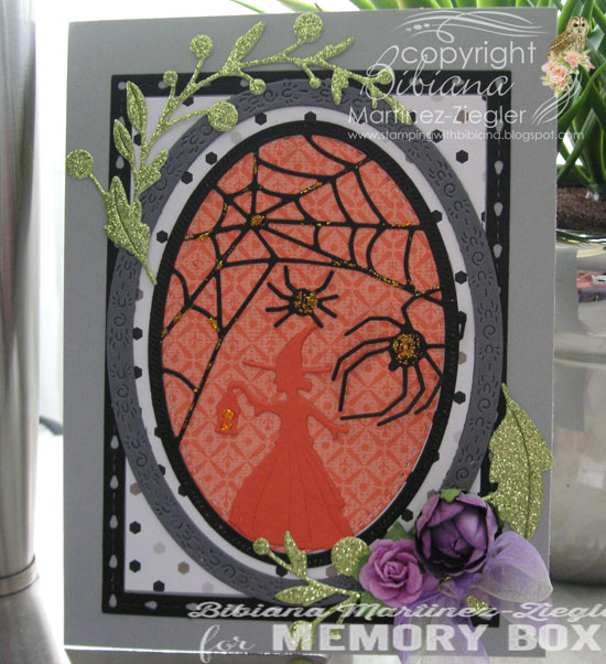 94311 Spider Web Oval Frame craft die