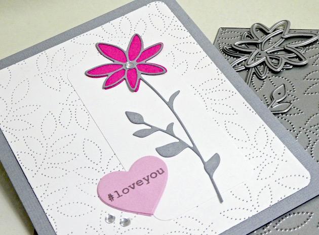 MemoryBoxPinpointLeafPlate, MemoryBoxSingleDaisyStem, MemoryBoxBigAndLittleValentinesClearStamps, MemoryBoxDoubleStitchLovingHeartCutOuts, MemortyBoxRectangleBasics, JeanOkimoto, ValentineDiecuts, HeartDiecuts, HandmadeValentines, Papercrafting, ImpressCardsAndCrafts