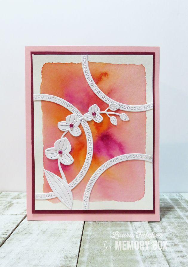 94256 Delicate Orchid craft die