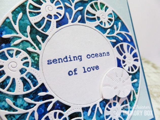 94225 Seashell Circle Frame craft die