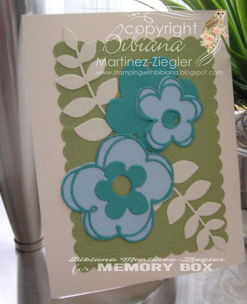 Blue flowers last