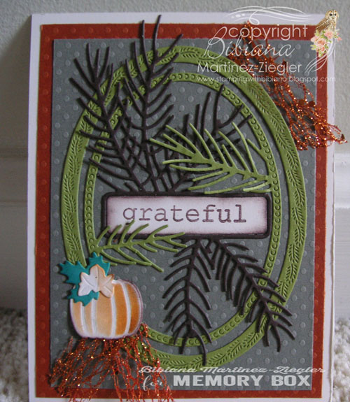 Fall grateful front