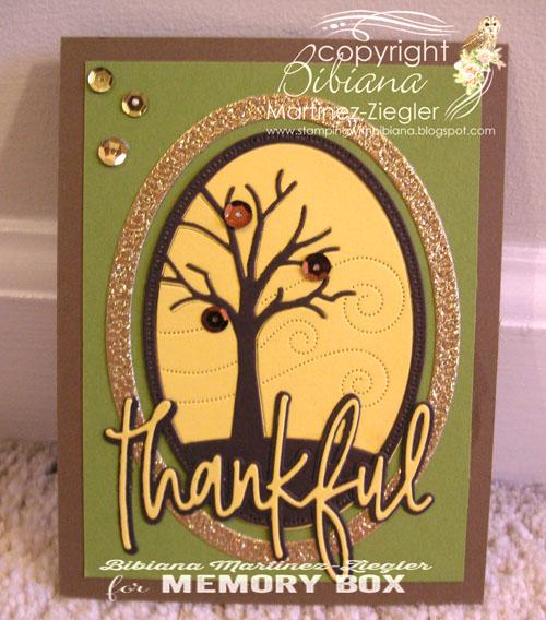 Fall agradecida tree last