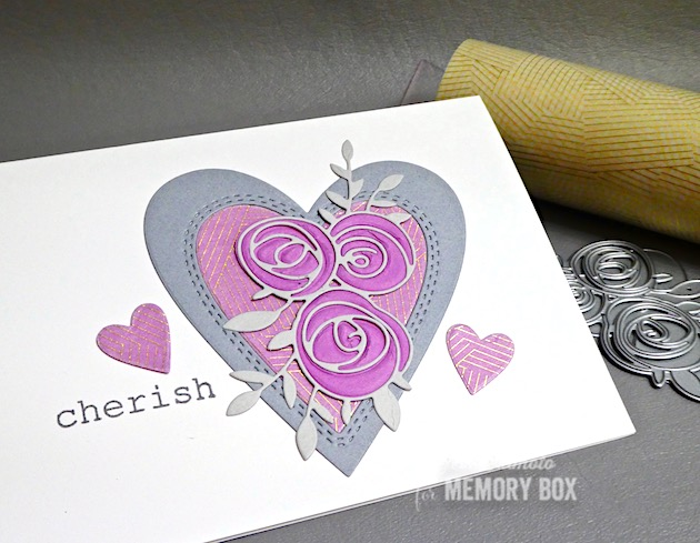 CL5252 Big and Little Valentines clear stamp set