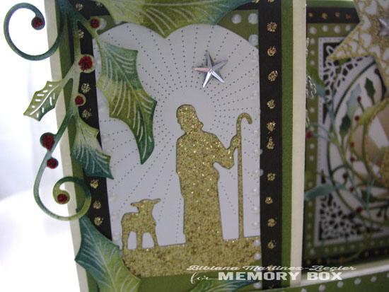Xmas nativity folded left