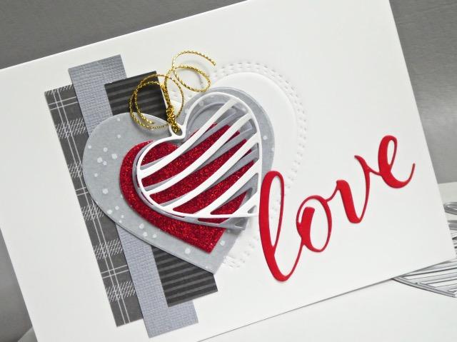 MemoryBoxLoveAiryScript, MemoryBoxDoubleStitchLovingHeartCutOut, MemoryBoxBandedHeartLocket, MemoryBoxBigAndLittleValentinesClearStamps, MemoryBoxDashingHoliday6x6Set, MemoryBoxDashingStripsAndDots6x6Set, JeanOkimoto, VersaFineClair, ImpressCardsAndCrafts, ValentineDiecuts, WordDiecuts, WideWashiTape, HeartDiecuts