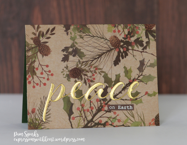 Pam Sparks Peace Airy Script Washi 10.24.2019