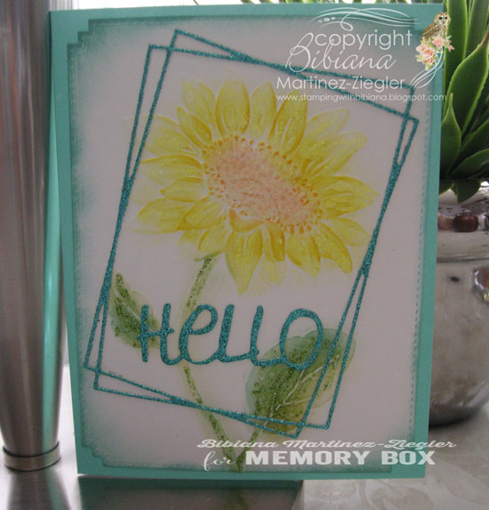 Color sunflower EF front