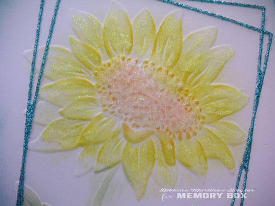 Color sunflower EF detail