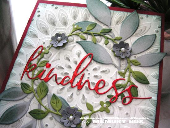 Kindness detail