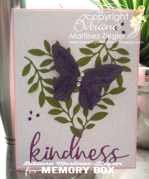 Kindness butterfly front