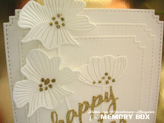 White gold easter detail