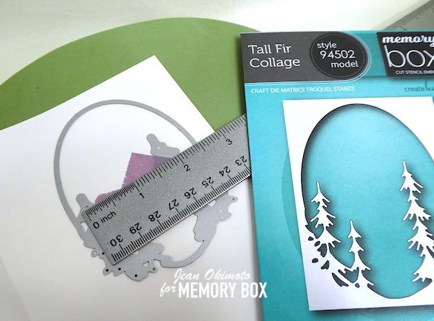 MemoryBoxTallFirCollage, MemoryBoxCoDiecuts, MemoryBoxCo, TreeDiecuts, HolidayDiecuts, JeanOkimoto