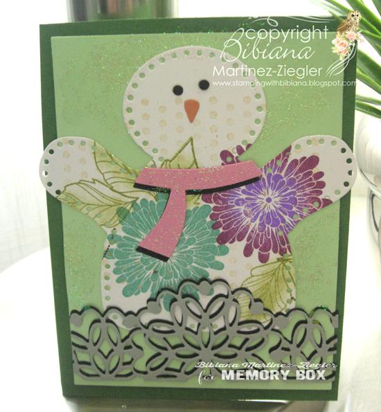 Snowman paper front