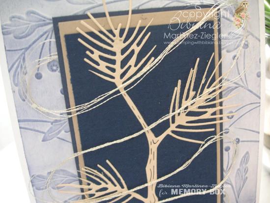 Pine branch detail