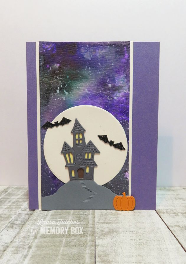 94507 Haunted Entrance Dome Layer craft die