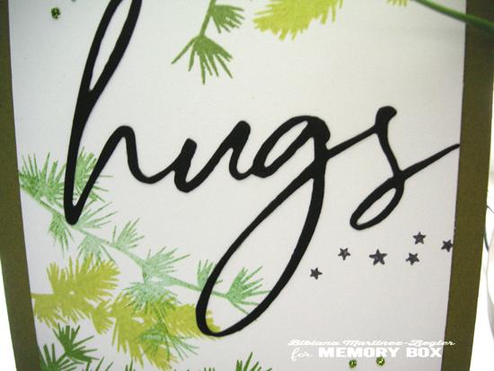 Pines hugs detail