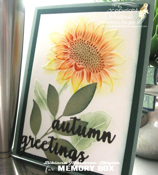 Fall sunflower last