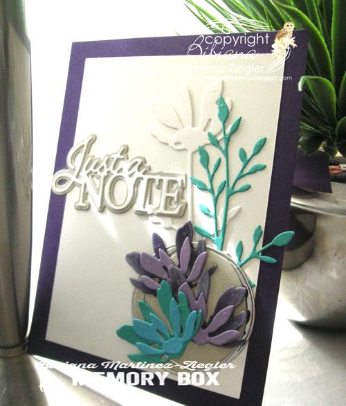 Note purple turquoise last
