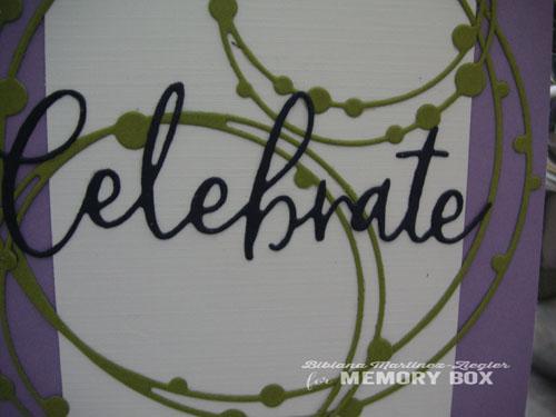Celebrate circles detail